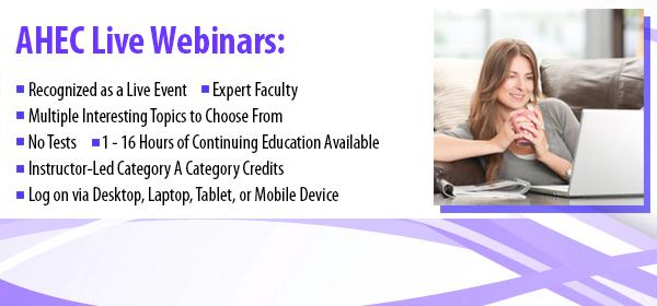 Webinars Courses